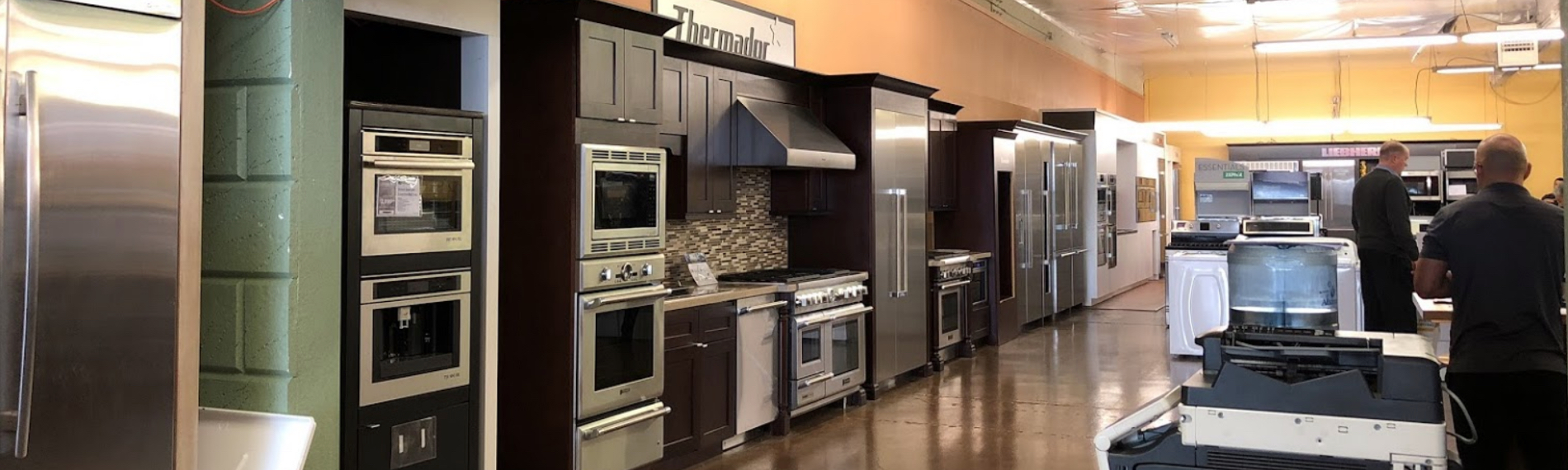 Wide Range of Appliances