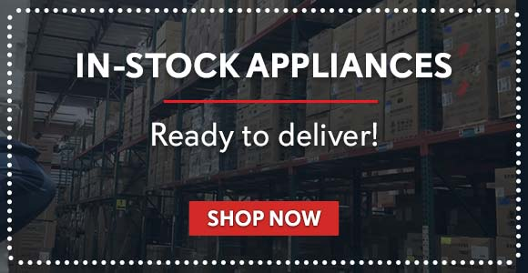 Shop in-stock appliances