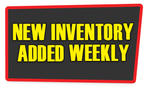 New Inventory Added Weekly