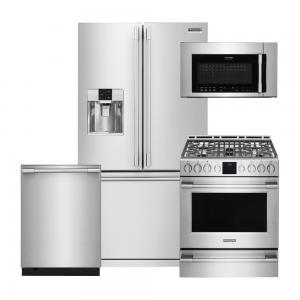 Frigidaire Professional4-Piece Stainless Steel Pro-Style Kitchen Package