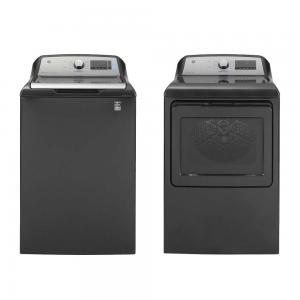 Top Load Laundry Pair with Electric Dryer