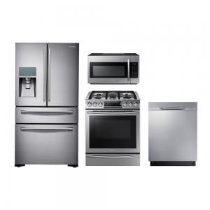 Samsung Appliances. Samsung Appliances4 Piece Stainless Steel Kitchen  Package