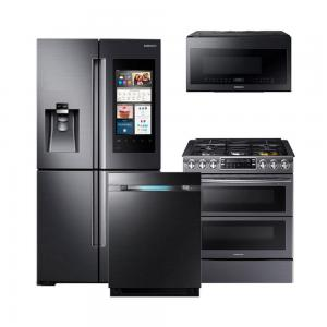Samsung AppliancesBlack Stainless Family Hub Package