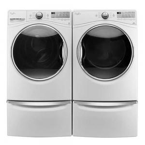 WhirlpoolLaundry Pair WFW92HEFW & WED92HEFW