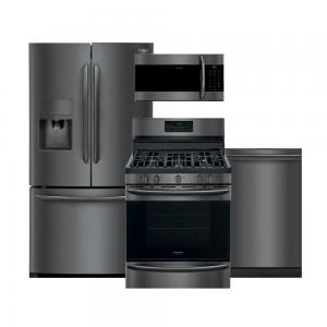 FrigidaireGallery Black Stainless Kitchen Package